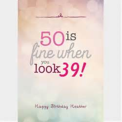 personalised 50th birthday cards gettingpersonal co uk