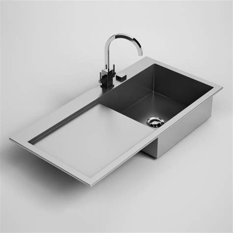 Kitchen Sink 24 3d Model Max Obj Fbx C4d Cgtrader Com Kitchen Sink Models