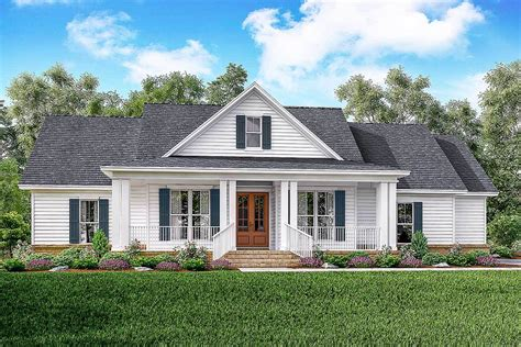farm house plans classic 3 bed country farmhouse plan 51761hz