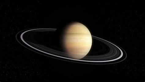 the rotation of saturn rotation of the planet saturn hd realistic imaging of