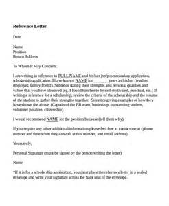 Reference Letter Format For Teachers 7 Reference Letter For Templates Free Sle