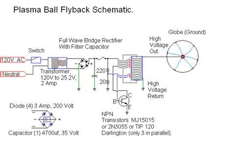 how to make a plasma capacitor plasma power supply