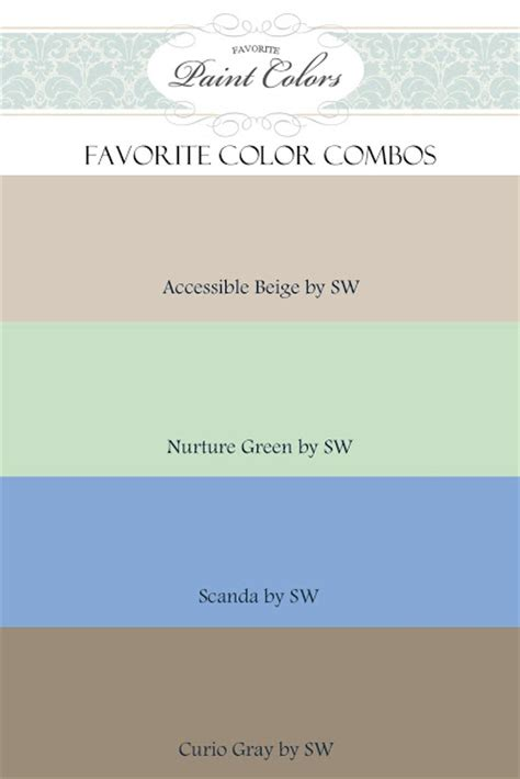 favorite paint colors coastal cool color combos