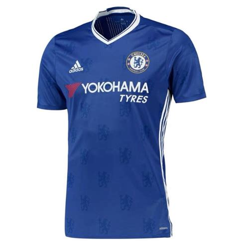chelsea new kit 2016 17 photos chelsea officially unveil new 2016 17 home kit