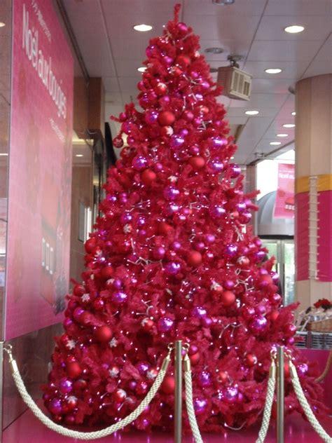 pink christmas tree christmas tree pinterest