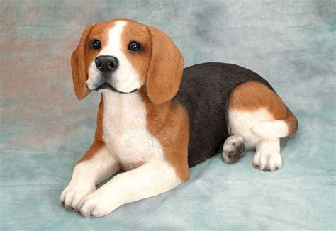beagle puppy memorial sculpture urn beagle