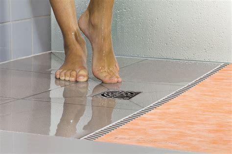 Ditra Floor System - schluter 174 kerdi shower st prefabricated substrates