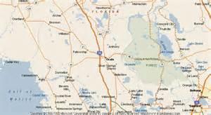 ocala florida map map of ocala