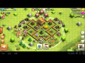 Clash of clans best town hall th 4 base 400 trophies 2 days