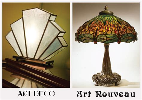 Shopping For Home Decor by Art Deco Or Art Nouveau How To Tell Which Is Which