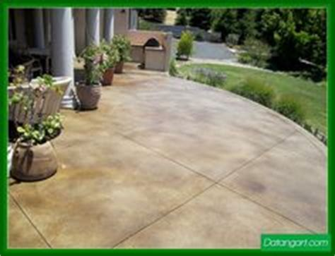 1000 ideas about colored concrete patio on
