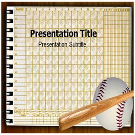 baseball card powerpoint template banci prapatan baseball scorecard powerpoint templates