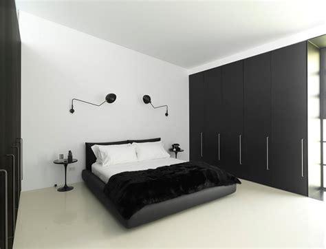 modern and minimalist bedroom decorating ideas so decora 231 227 o preto e branco 30 ideias para voc 234 se inspirar