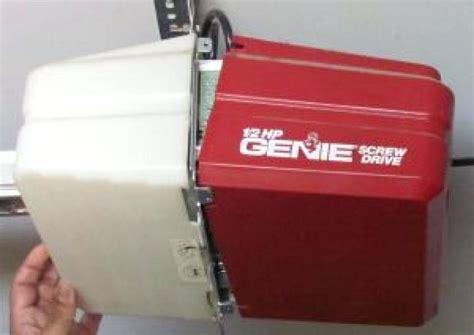 genie pro garage door opener manual