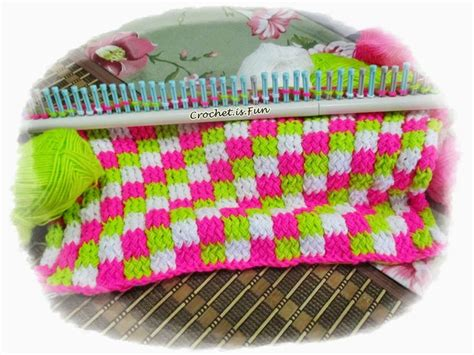 knitting loom crochet is tutorial loom knitting loom