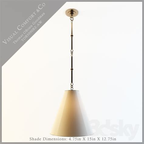 visual comfort login 3d models ceiling light visual comfort tob5090bz aw