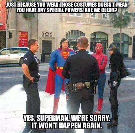 Funny Police Memes - super powers