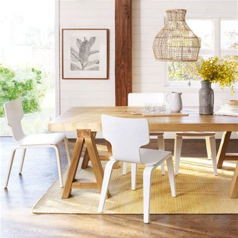 Freedom Furniture Dining Table Coastal Style Feature Pendants