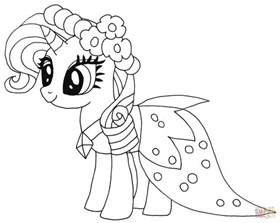 coloring pages princess pony princess rarity coloring page free printable coloring pages