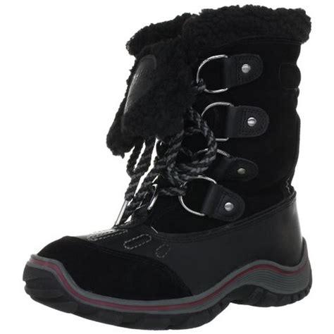 pajar 6665 womens alina leather waterproof faux fur snow