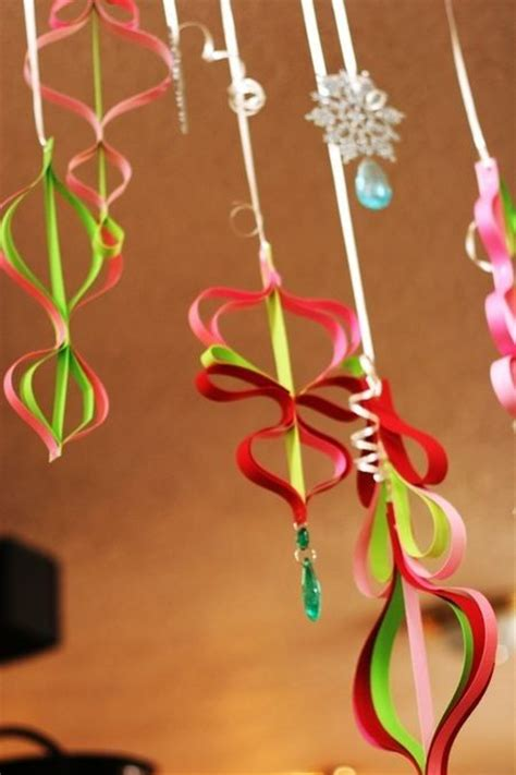 hanging paper ornaments by indigo23 christmas future