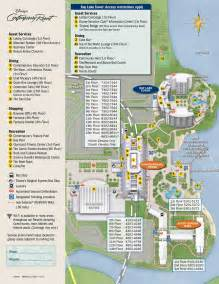 florida rooms map disney s contemporary resort map wdwinfo