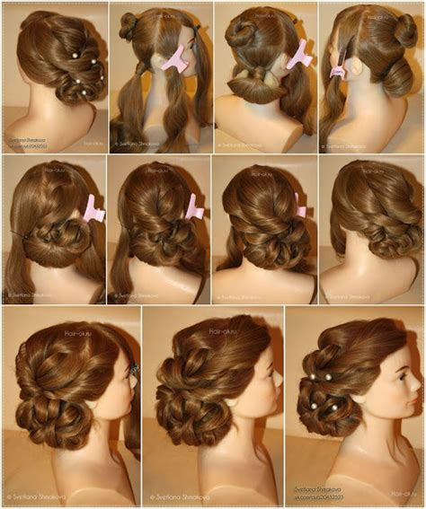 hair style step by step pic holiday hairstyle step by step diy craft projects