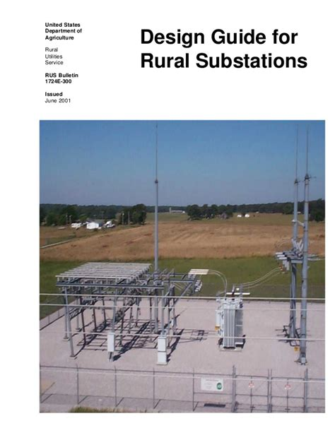 substation layout design guide design guide for rural substations