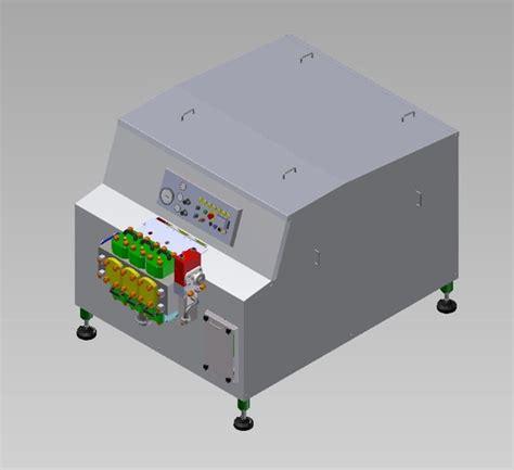 Milk Homogenizer Design | milk homogenizer step iges 3d cad model grabcad