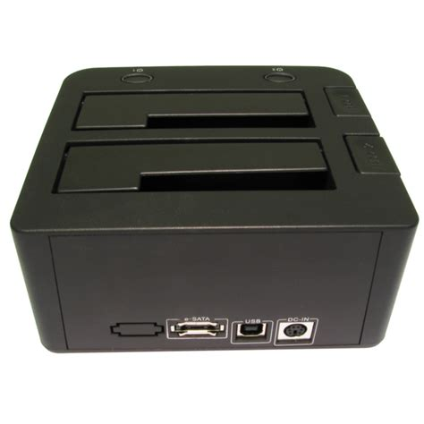 Harddisk Caddy Dual Station For 2 X Sata Hdd Disk Drives Usb