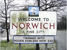 WELCOME TO NORWICH A FINE CITY | Norwich, Norfolk, England ... Leo