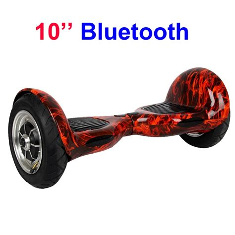 Smart Balance Wheel 10 Inch With Bluetooth Ban Pompa 10 inch 2 wheel smart balance scooter electric self standing hoverboard unicycle two wheels with