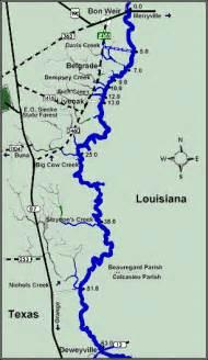 sabine river map sabine river