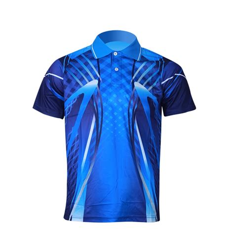 D F T Shirt Dsgn Blue sports polo shirts design