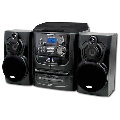 cd cassette stereo shelf system shelf stereo system with record player 3 cd