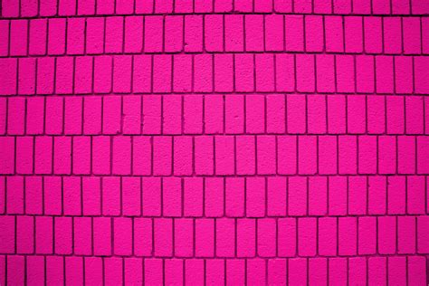 pink brick wall hot pink brick wall texture with vertical bricks picture