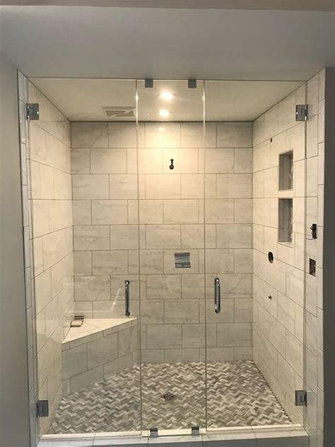 bathroom shower doors beautiful heavy frameless