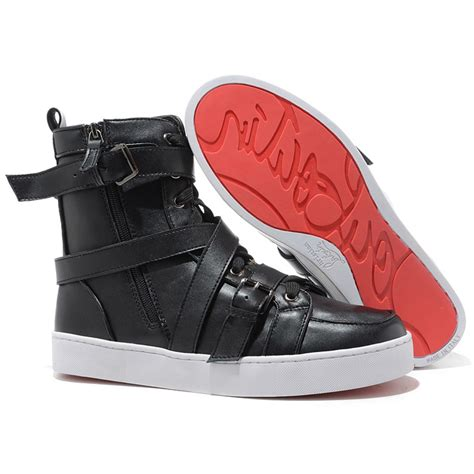 cheap womens high top sneakers cheap christian louboutin spacer flat high top mens