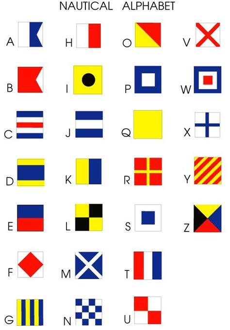 boat flags chart 25 best ideas about nautical flag alphabet on pinterest
