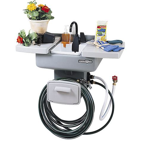 backyard gear backyard gear water station plus outdoor sink 81 10
