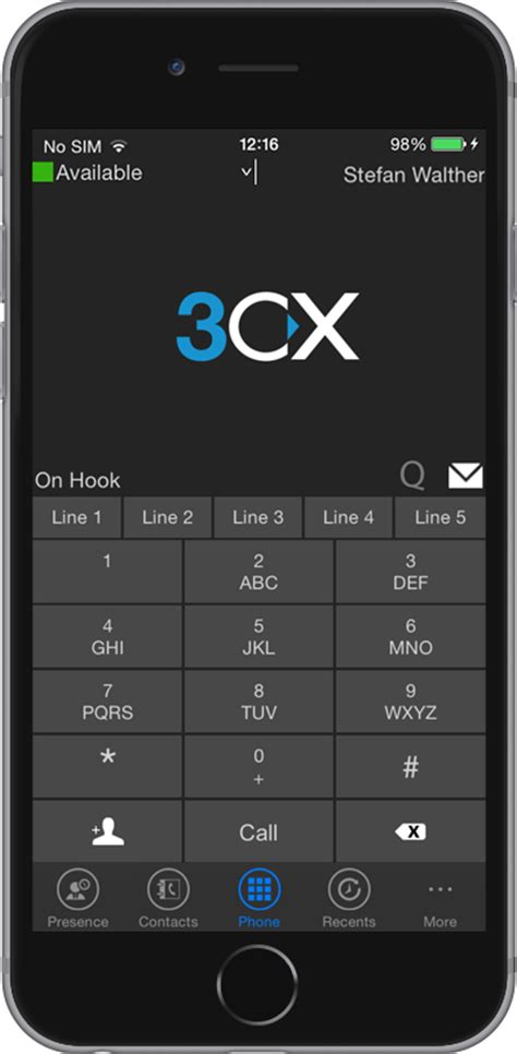 3cxphone for android the new 3cx phone ios client is available for