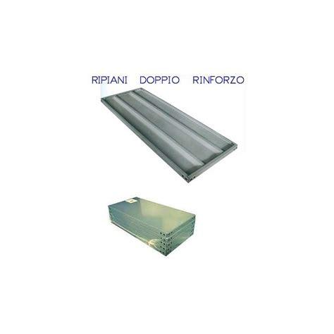 ripiani per scaffali metallici ripiani metallici per scaffali a doppio rinforzo