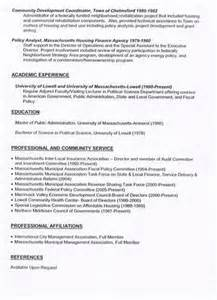 Image result for city manager resume