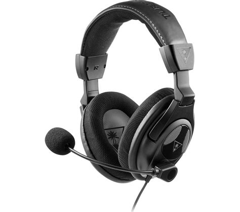 Headset Gaming H300 Black buy turtle earforce px24 gaming headset black free delivery currys