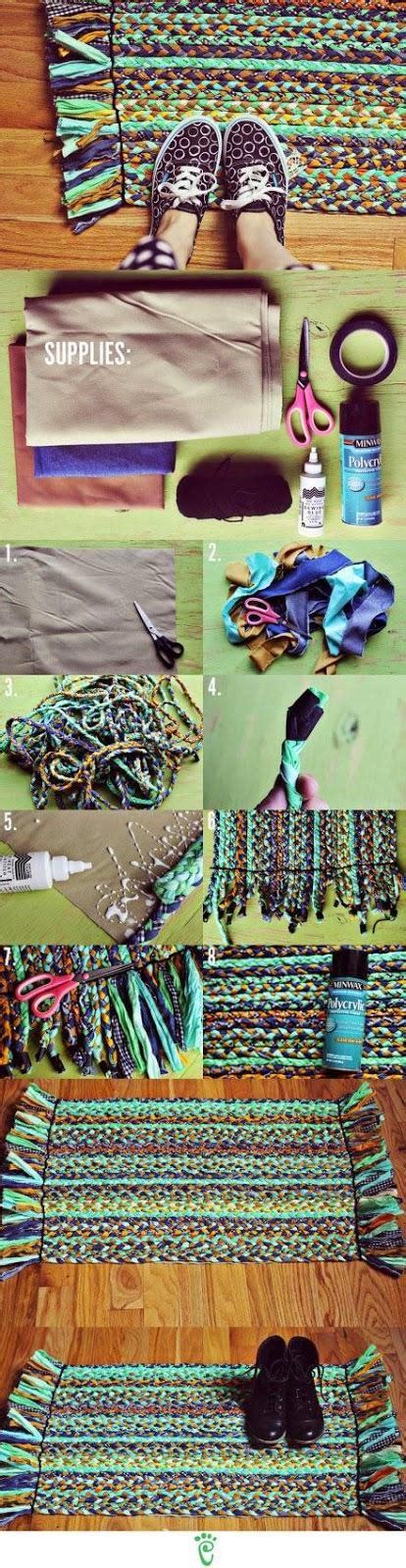 Tappeti Fai Da Te Come Fare Tappeti Riciclando Vecchie How To Store Rugs