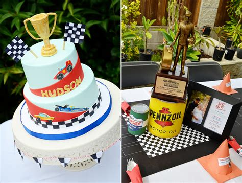 car themed baby shower decorations vintage cars and drag racing themed baby shower and