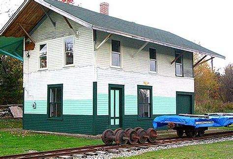 historic albion maine depot the nerail new