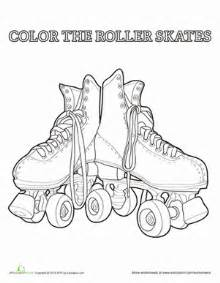 roller skate coloring page roller skate coloring page education