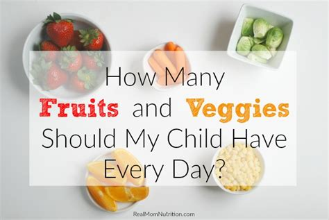 5 fruits and vegetables per day here s how many fruits and vegetables need every day