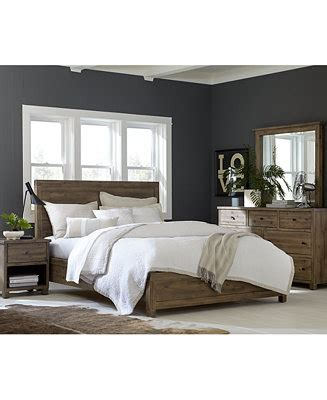 macys bedroom set canyon bedroom furniture collection only at macy s